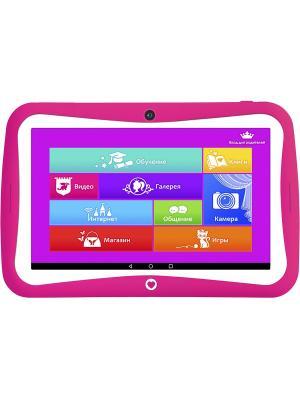 Планшетный компьютер TurboKids Princess NEW. Цвет: розовый