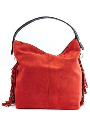 Сумка Ripani. Цвет: красно-оранжевый