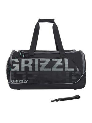 Сумка Grizzly. Цвет: черный, серый