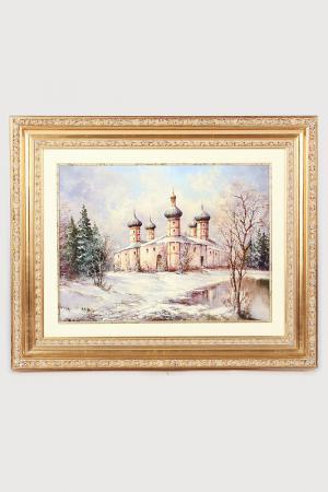 Постер Храм зимой F.A.L. Цвет: мультицвет