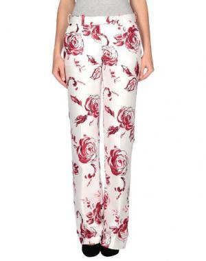 Повседневные брюки TOMASO. Цвет: пурпурный