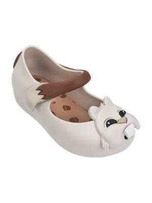 Туфли Melissa. Цвет: белый