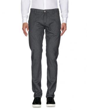 Повседневные брюки NICWAVE. Цвет: свинцово-серый
