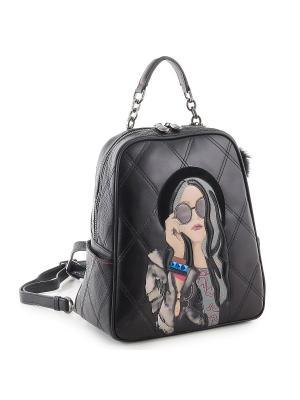 Рюкзак Curanni. Цвет: черный