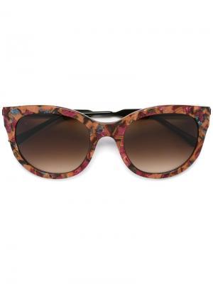 Солнцезащитные очки Lively Thierry Lasry. Цвет: розовый и фиолетовый