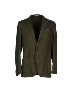 Пиджак MANUEL RITZ WHITE. Цвет: темно-зеленый