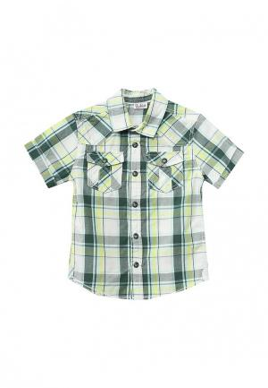 Рубашка Blukids. Цвет: зеленый