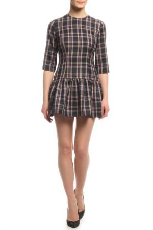 Платье Rocawear. Цвет: синий, розовый