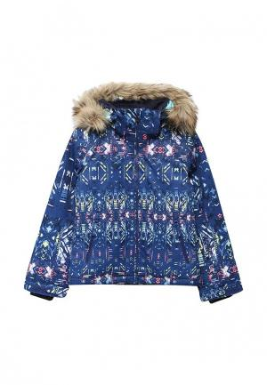 Куртка горнолыжная Roxy. Цвет: синий