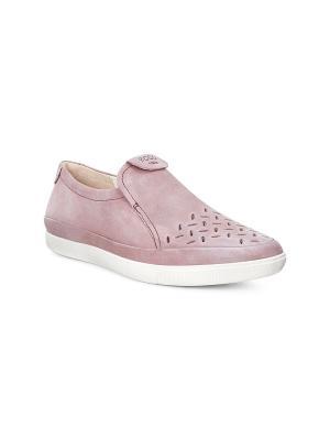 Слиперы ECCO. Цвет: розовый