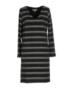 Короткое платье DRY LAKE.. Цвет: свинцово-серый