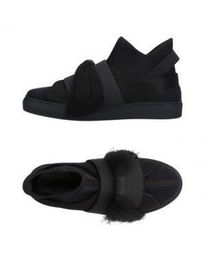 Высокие кеды и кроссовки ALEKSANDER SIRADEKIAN. Цвет: черный