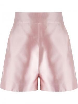 High-waisted shorts Martha Medeiros. Цвет: розовый и фиолетовый