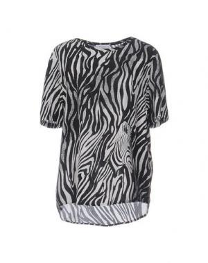Блузка EQUIPMENT FEMME. Цвет: черный