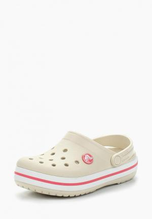 Сабо Crocs. Цвет: бежевый