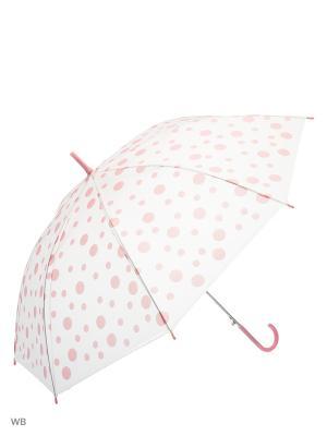 Зонт Modis. Цвет: белый, светло-коралловый, бледно-розовый
