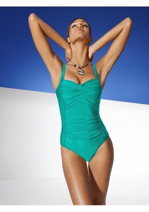 Моделирующий купальник Class International. Цвет: шоколадный