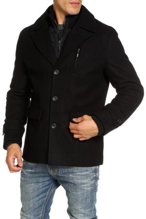 Пальто DISSIDENT. Цвет: черный