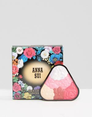 Anna Sui Иллюминайзер ограниченной серии Face Colour. Цвет: розовый