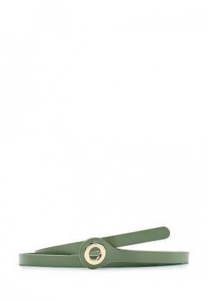 Пояс MAISONQUE. Цвет: зеленый