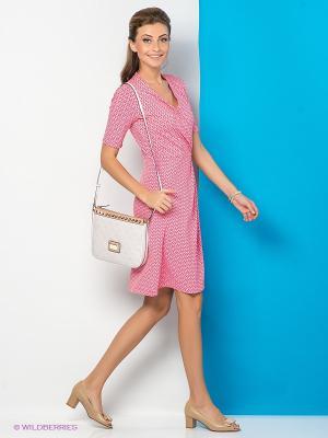 Платье River Woods. Цвет: розовый, красный