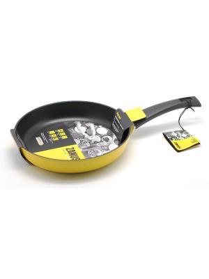 Сковорода 26см Pescara Zanussi. Цвет: желтый