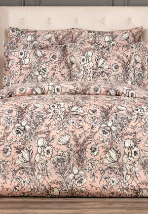 Комплект постельного белья Togas. Цвет: розовый