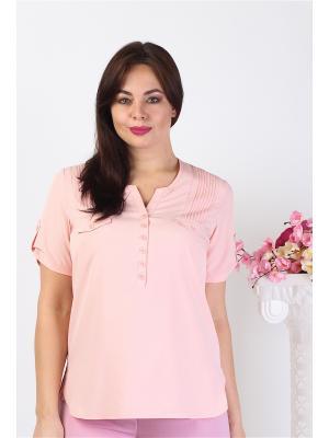 Блузка Alona. Цвет: розовый