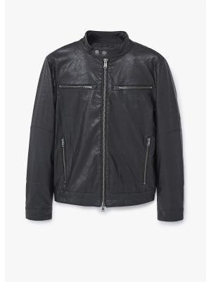 Куртка - JOSE MANGO MAN. Цвет: черный