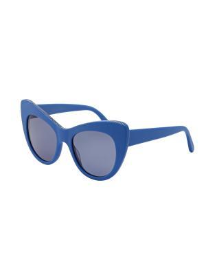 Солнцезащитные очки Stella McCartney. Цвет: синий