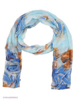 Платок TOSCA BLU. Цвет: голубой