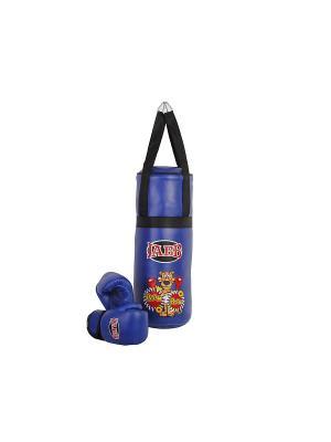 Набор боксерский детский  JE-3060 Jabb. Цвет: синий