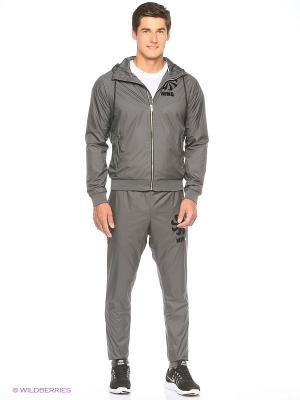 Спортивный костюм M NSW WR TRK SUIT WVN GX Nike. Цвет: темно-серый, черный