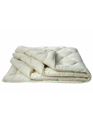 Одеяло БАМБУК ИвШвейСтандарт. Цвет: белый, зеленый