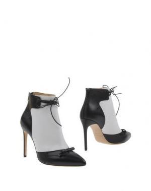 Полусапоги и высокие ботинки BIONDA CASTANA. Цвет: белый