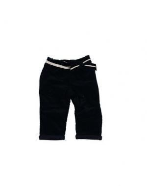 Повседневные брюки PAPERMOON. Цвет: темно-синий