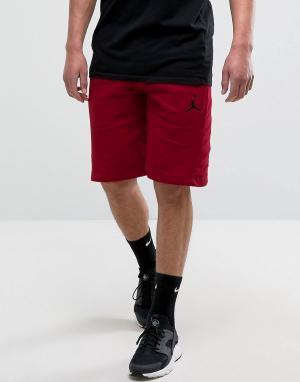 Jordan Красные шорты Nike Flight Lite 809454-688. Цвет: черный