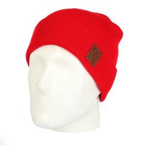Шапка  Unga Red Nord. Цвет: красный