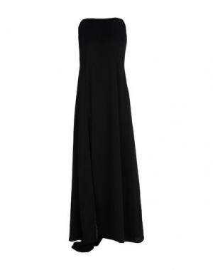 Длинное платье JILL STUART. Цвет: черный