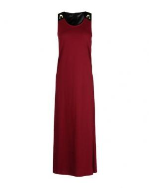 Длинное платье SILVIAN HEACH. Цвет: красно-коричневый