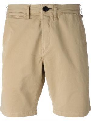 Бермуды до колена Paul Smith Jeans. Цвет: телесный