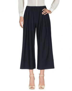 Повседневные брюки BARENA. Цвет: темно-синий