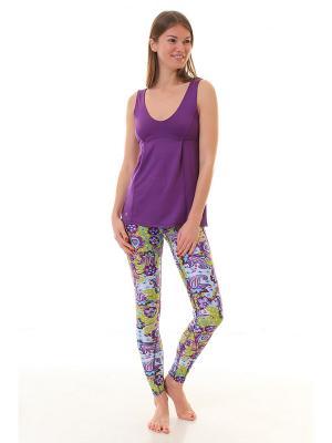 Топ Lotus Lilac Urban Yoga. Цвет: темно-фиолетовый