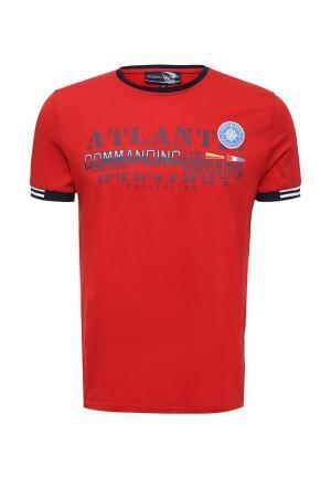 Футболка Giorgio Di Mare. Цвет: красный