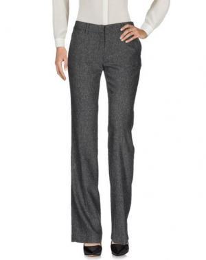 Повседневные брюки MAURIZIO PECORARO. Цвет: свинцово-серый
