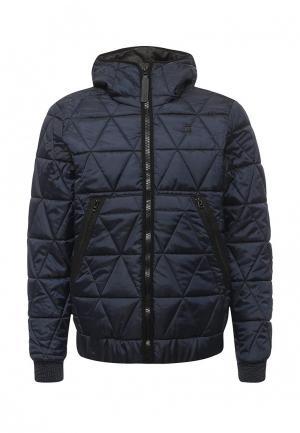 Куртка утепленная G-Star. Цвет: синий