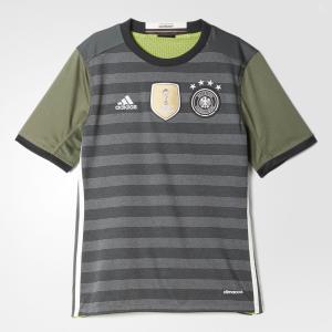 Выездная игровая футболка сборной Германии UEFA EURO 2016  Performance adidas. Цвет: белый
