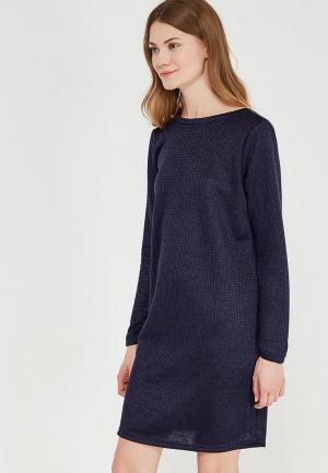 Платье Clabin. Цвет: синий
