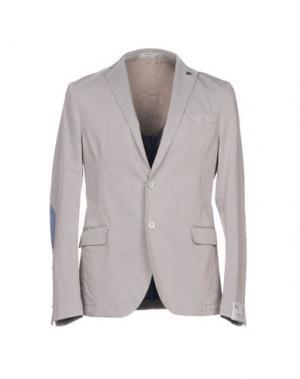 Пиджак MANUEL RITZ WHITE. Цвет: светло-серый