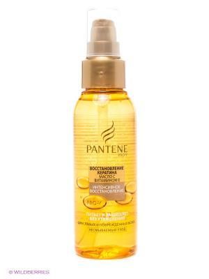 Сухое масло Интенсивное восстановление с витамином Е 100мл PANTENE. Цвет: желтый